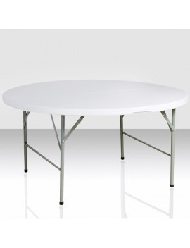 Table ronde Ø 150 cm pliante en malette BJS