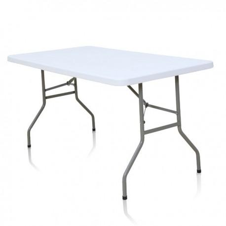 Table rectangulaire de 152 cm x 76 cm